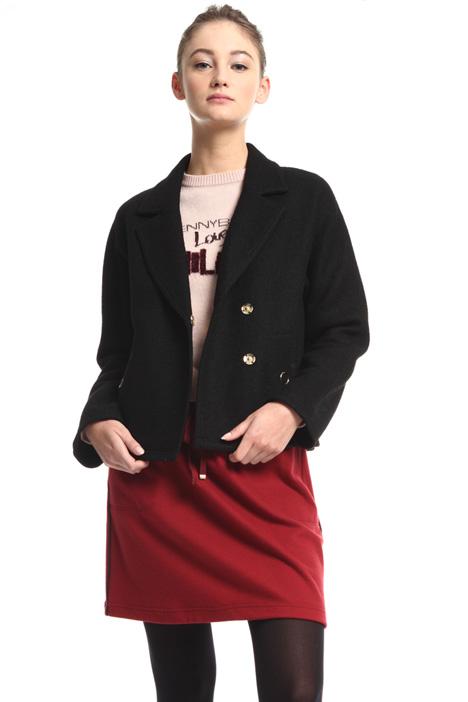 Bouclé jersey jacket Intrend