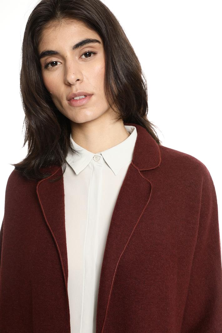 Boiled wool jacket Intrend