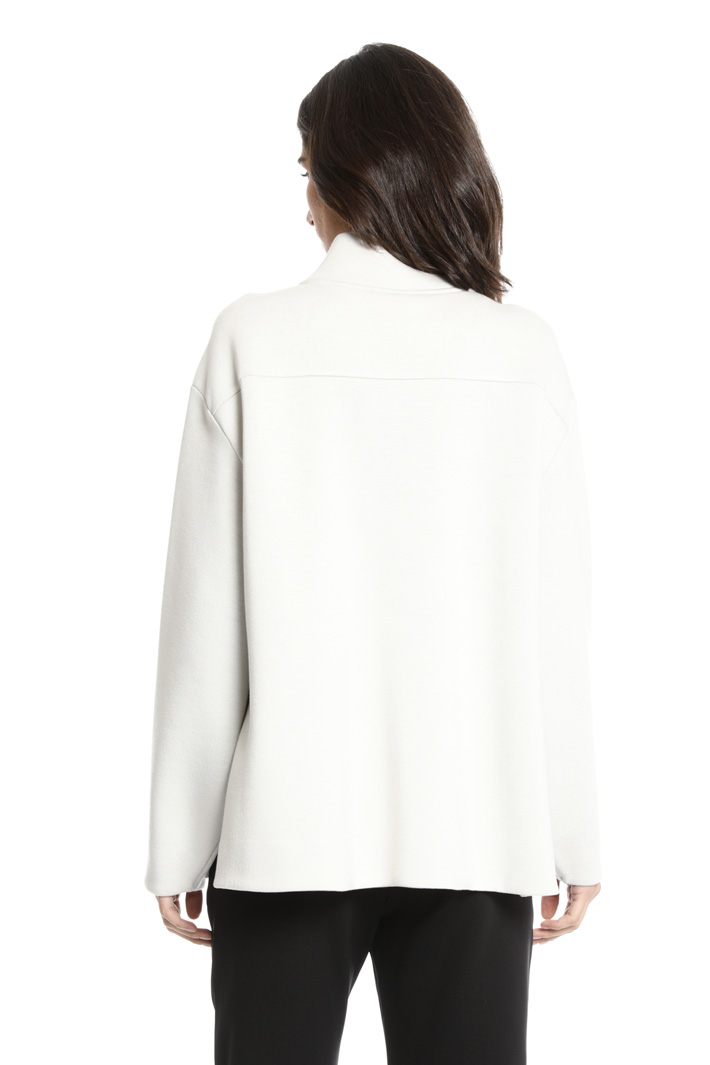 Flared oversized sweatshirt Intrend
