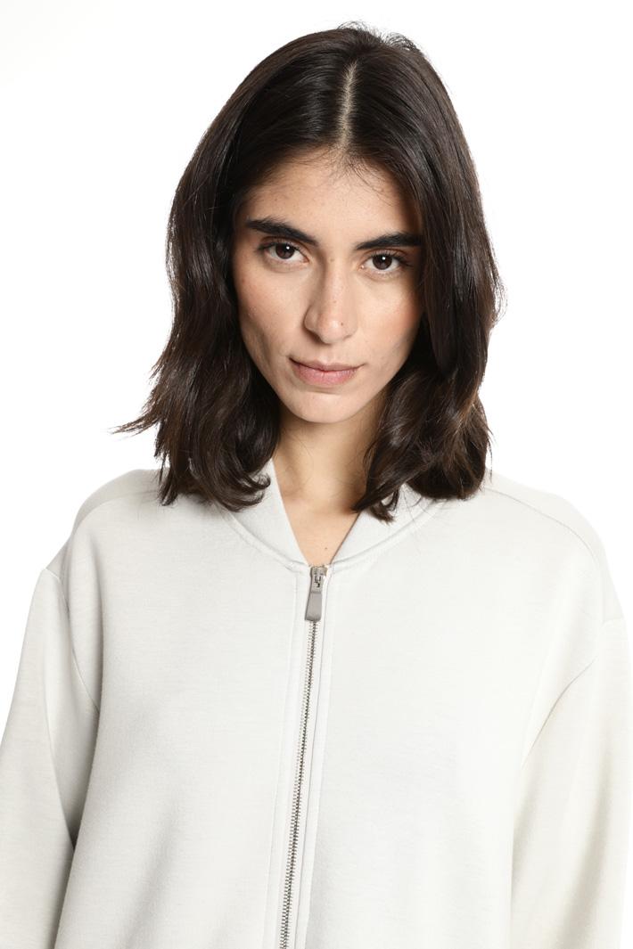 Flared oversized sweatshirt Intrend