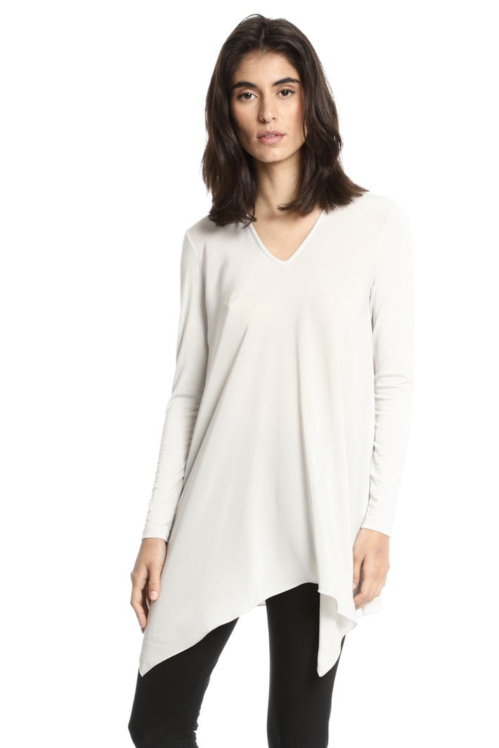 Flared asymmetrical T-shirt Intrend