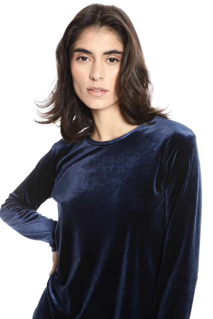 Cotton chenille T-shirt Intrend