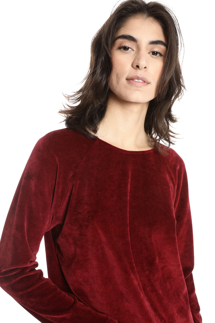 Oversized chenille T-shirt Intrend