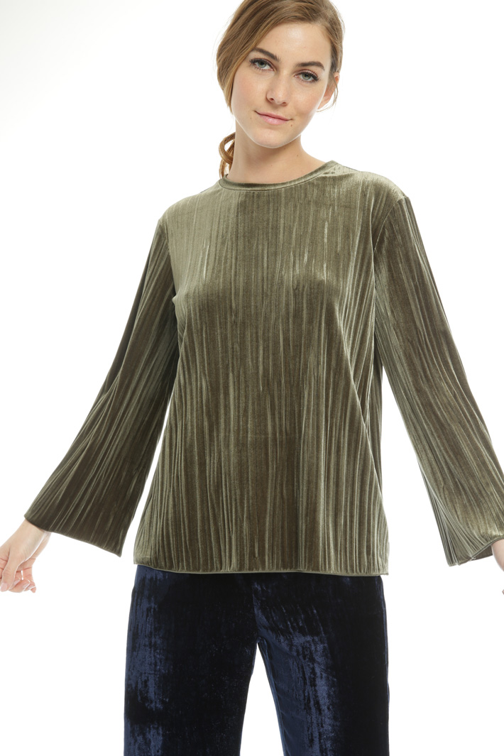 Chenille effect sweater Intrend