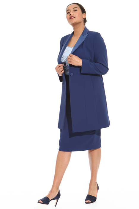 Long crepe jacket Intrend