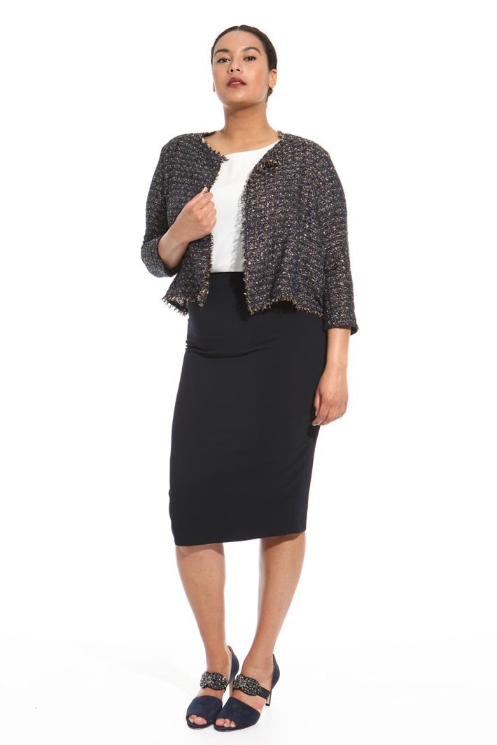 Lurex cotton jacket Intrend