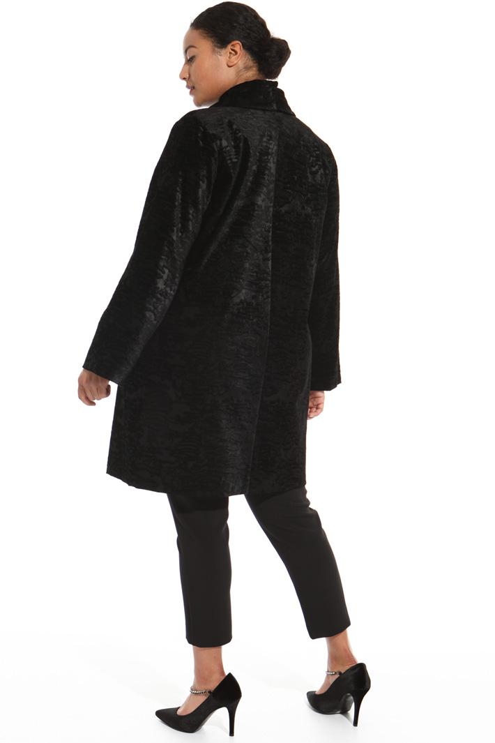 Velvet coat Intrend