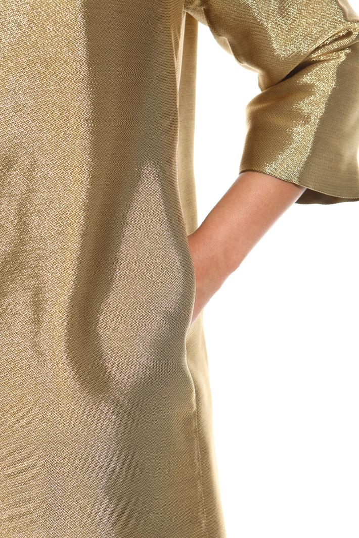 Metallic-effect jacket Intrend