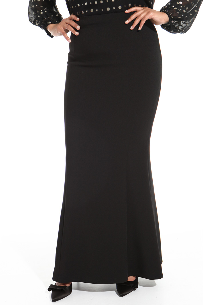 Long crepe skirt Intrend