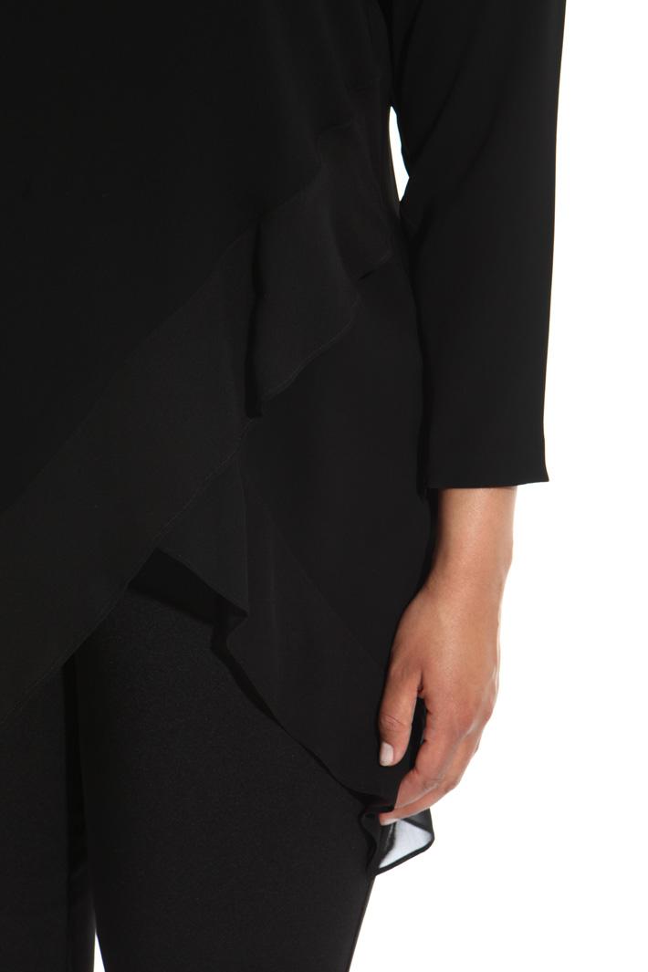 Triacetate and silk tunic Intrend