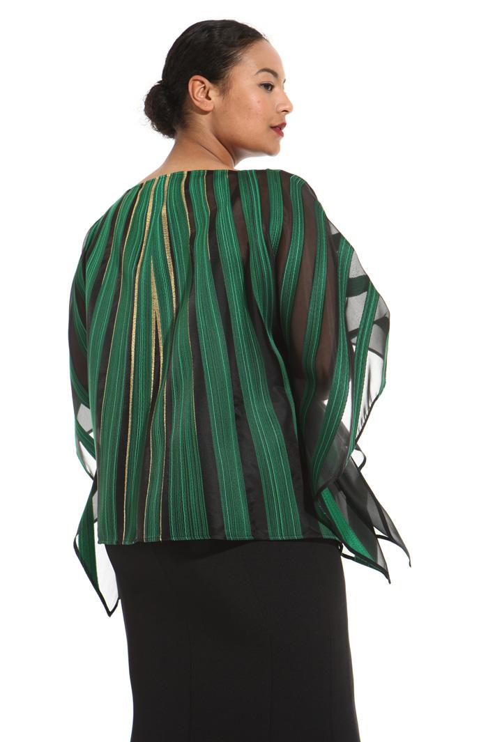 Silk poncho Intrend