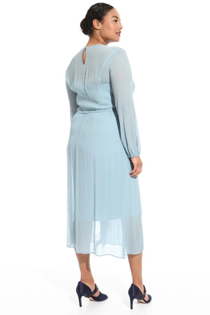 Longuette viscose dress Intrend
