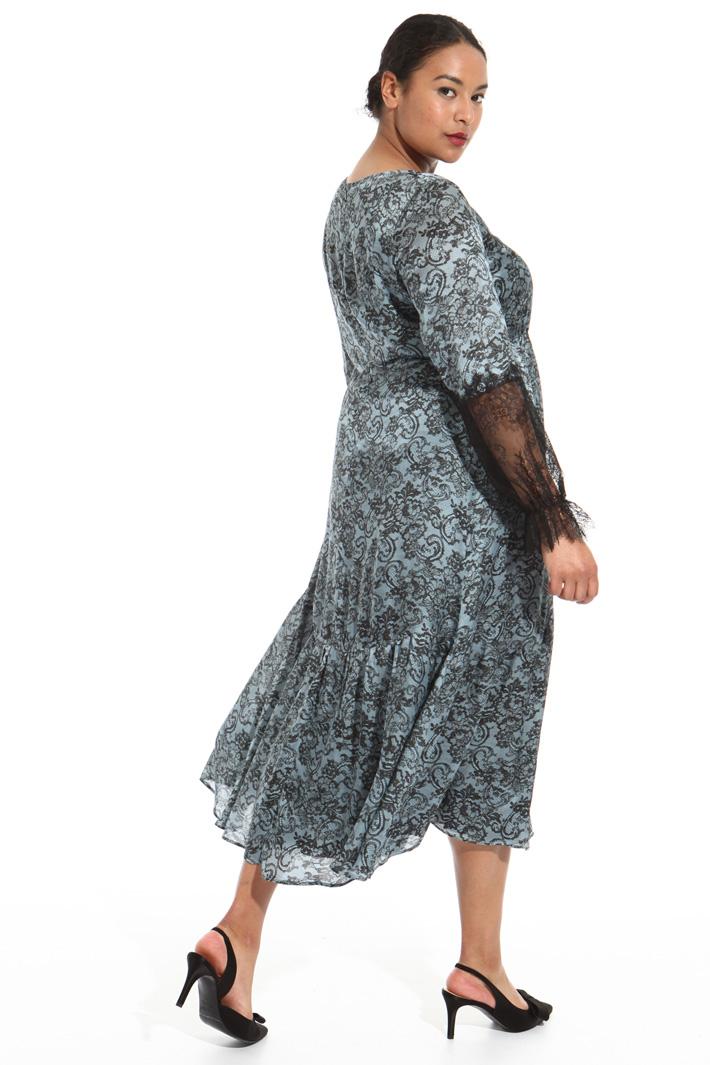 Silk dress Intrend
