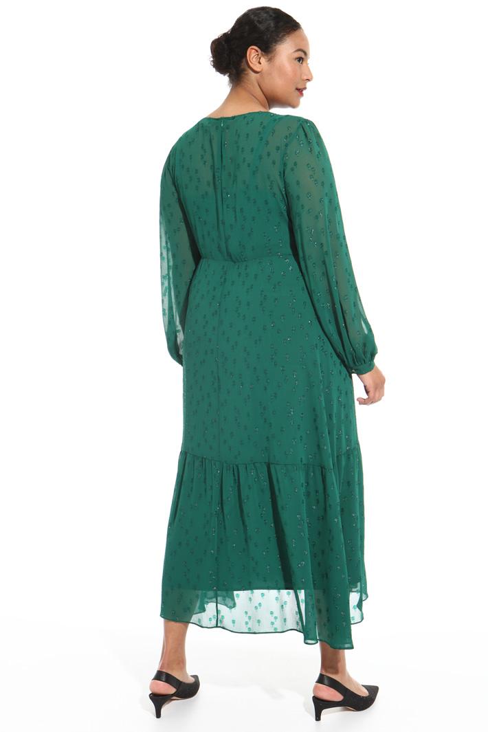 Long lurex dress Intrend