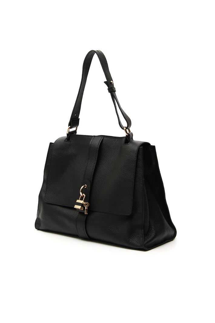 Leather shoulder bag Intrend