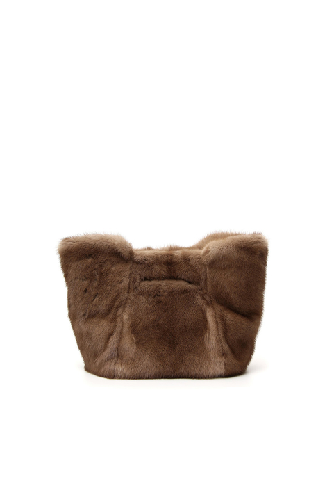 Mink fur shopper bag Intrend