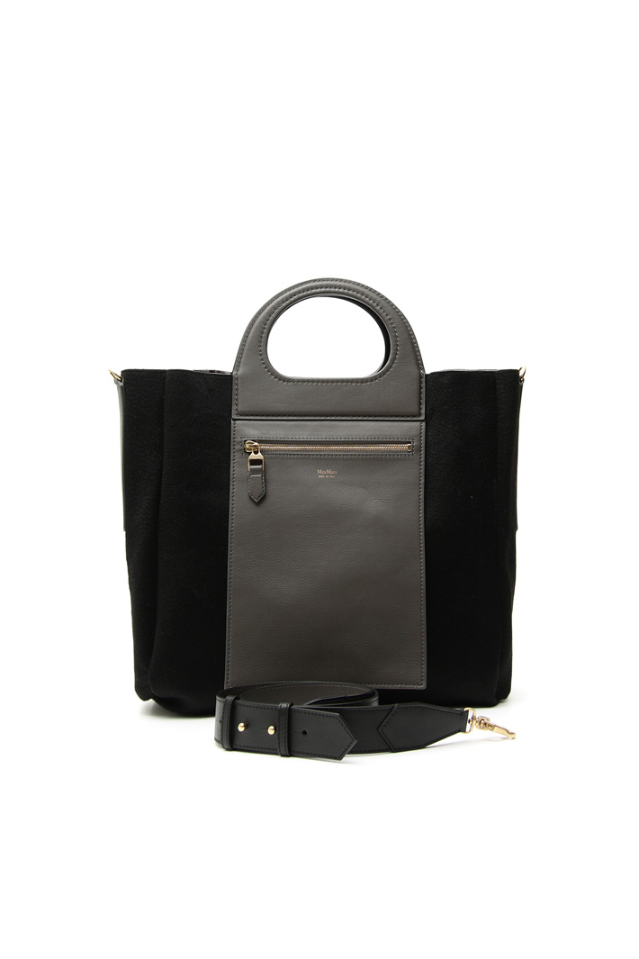 Reversible leather bag Intrend