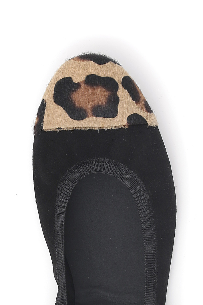 Animal print ballerinas Intrend