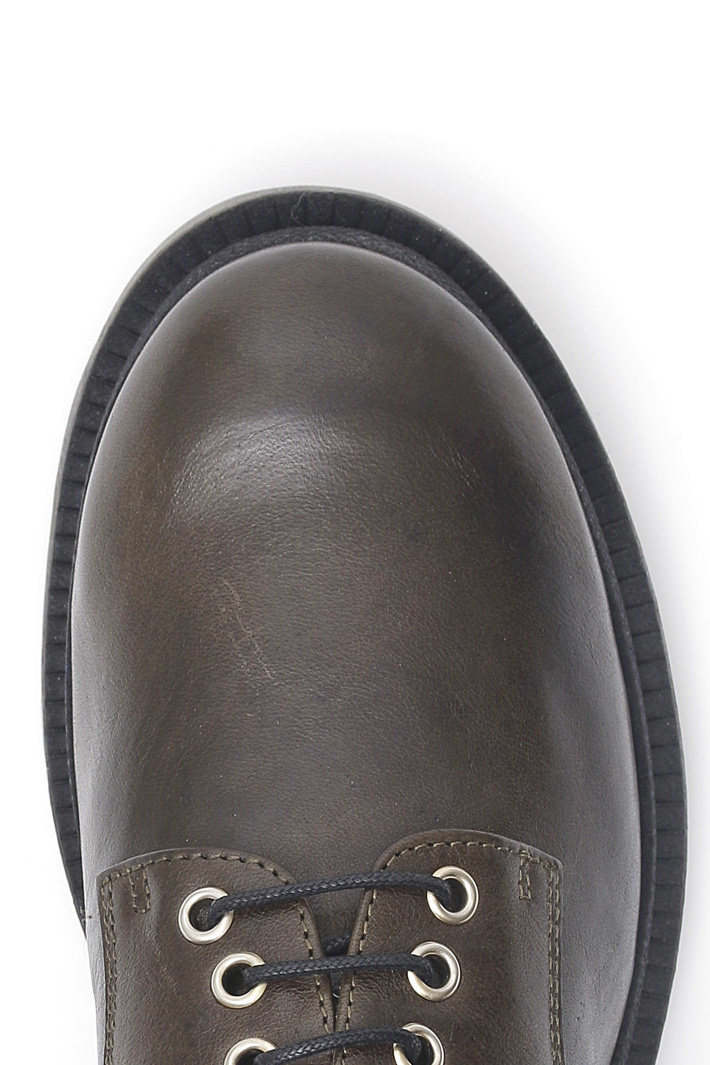 Leather Oxford shoes Intrend