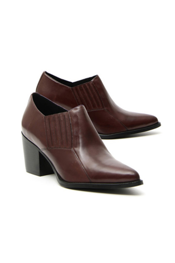 Block heel ankle boots Intrend
