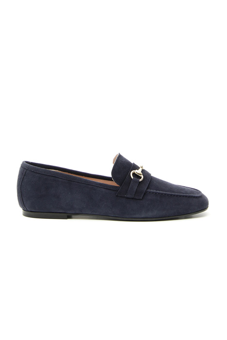 Suede leather moccasin Intrend