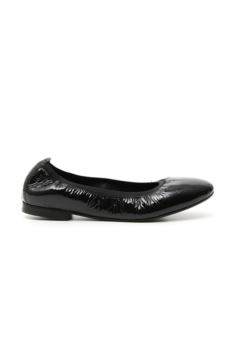 Shiny leather ballerinas Intrend