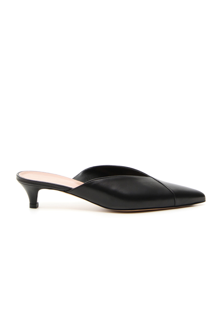 Nappa leather sabot shoes Intrend
