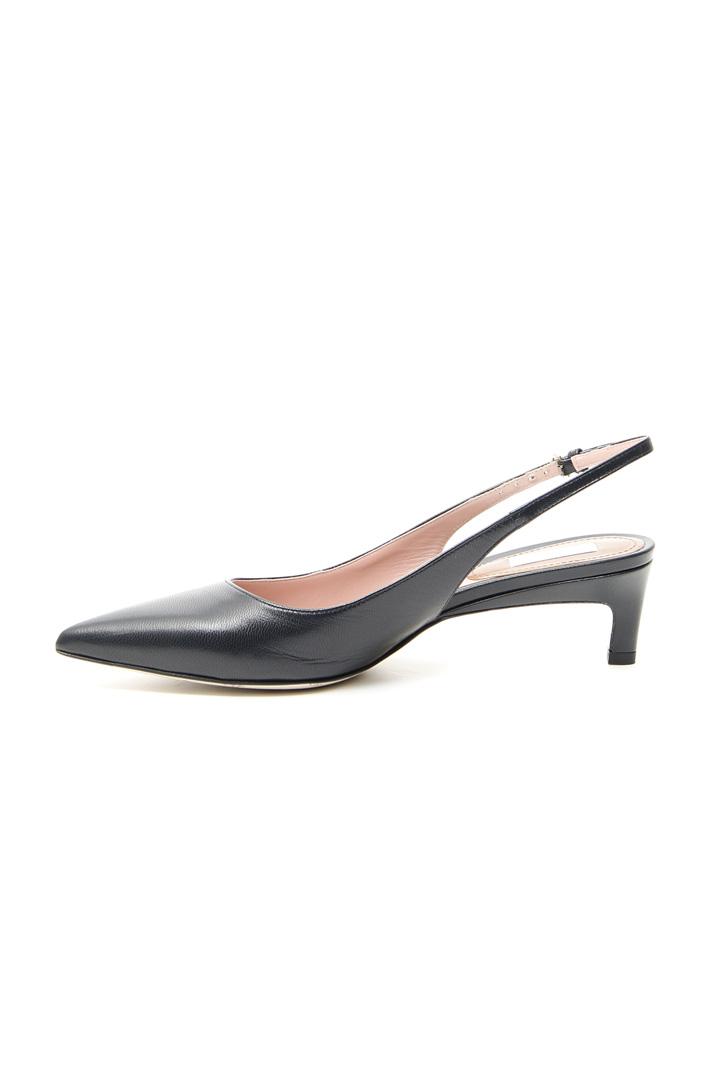 Goatskin slingback shoes Intrend