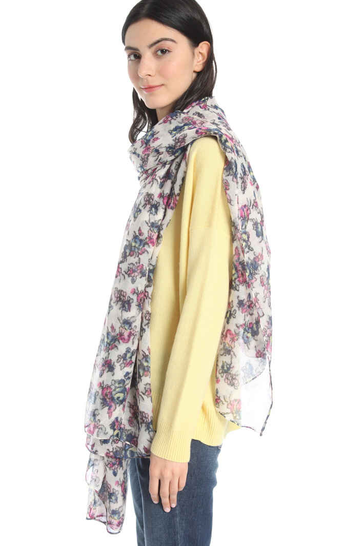 Soft printed stole Intrend