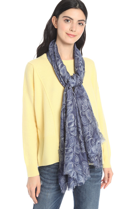 Fluid fabric scarf Intrend