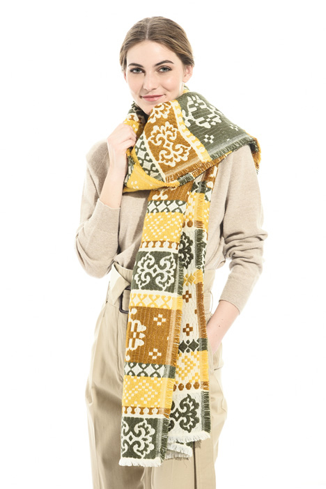 Jacquard fabric scarf Intrend