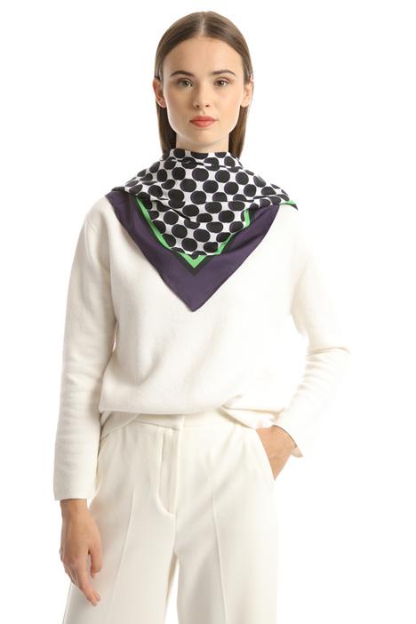 Printed maxi foulard Intrend