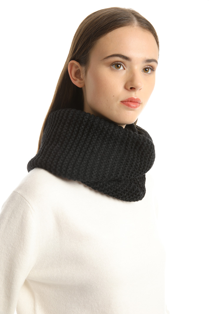 Knitted scarf collar Intrend