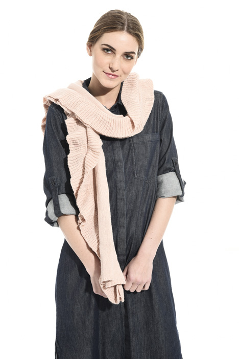 Rectangular knit scarf Intrend