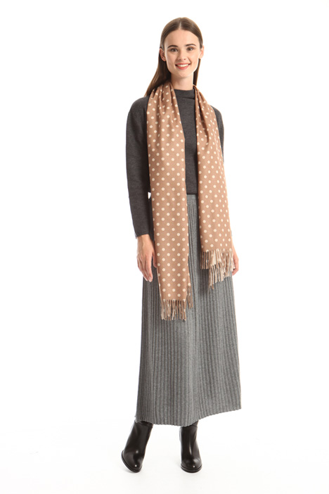 Soft polka-dot scarf Intrend