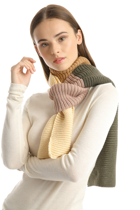 Color-block scarf Intrend