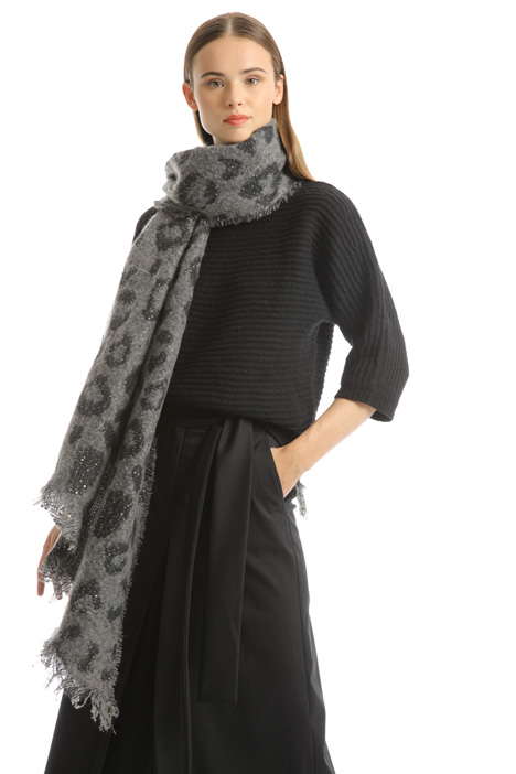 Soft sequin stole Intrend
