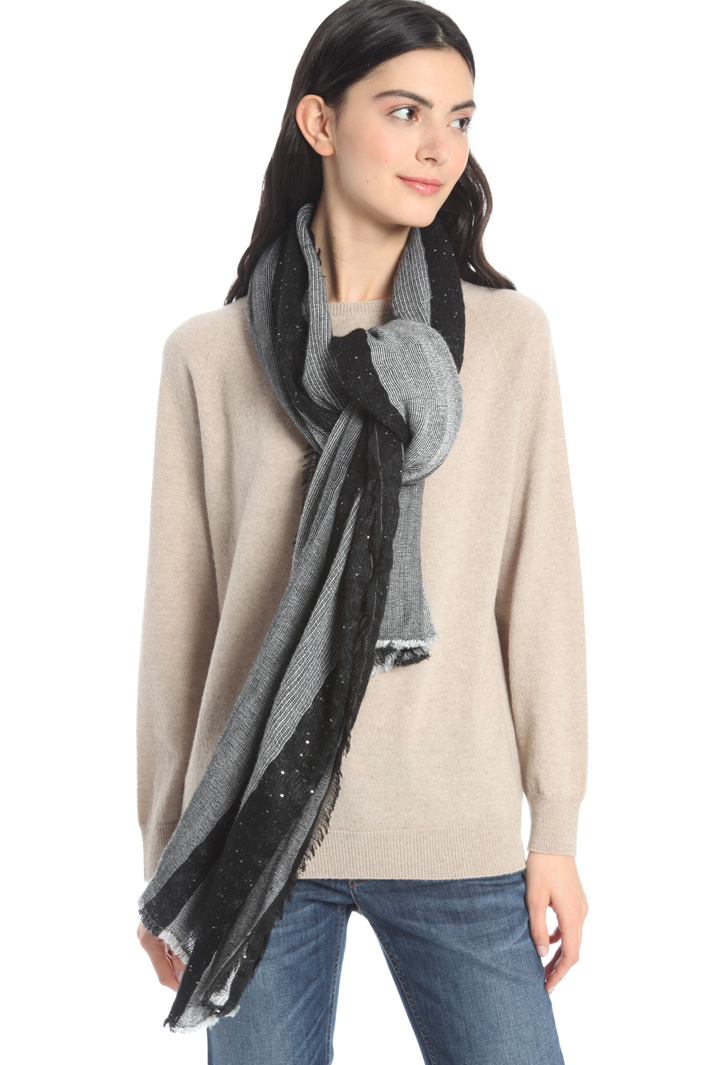 Sequin scarf Intrend