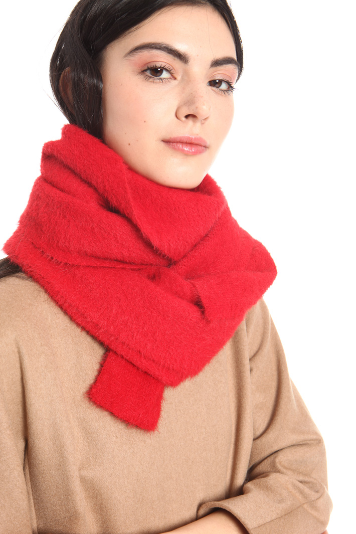 Knitted gauze scarf Intrend