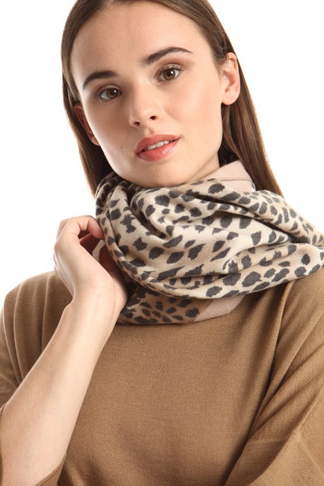 Soft animalier scarf Intrend