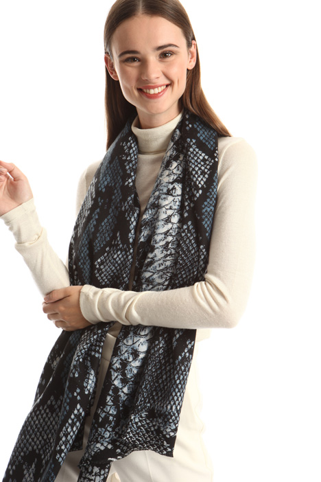 Reptile print scarf Intrend