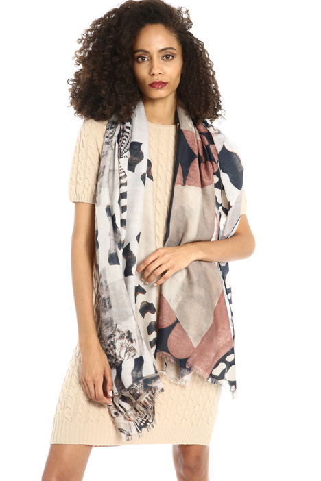 Patterned scarf Intrend