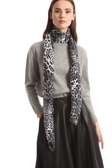 Animal print scarf Intrend