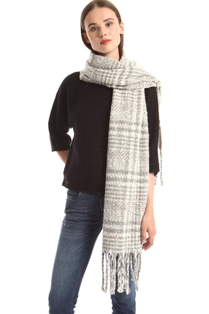 Bouclé scarf Intrend