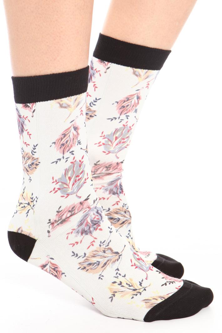 Printed socks Intrend