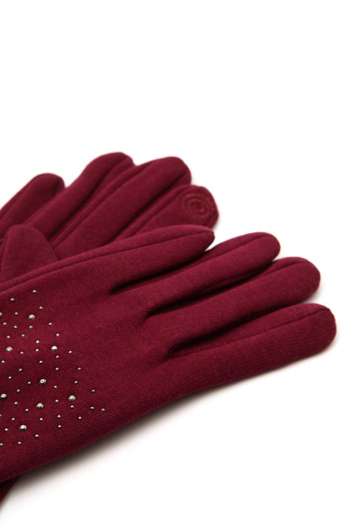 Rhinestone gloves Intrend