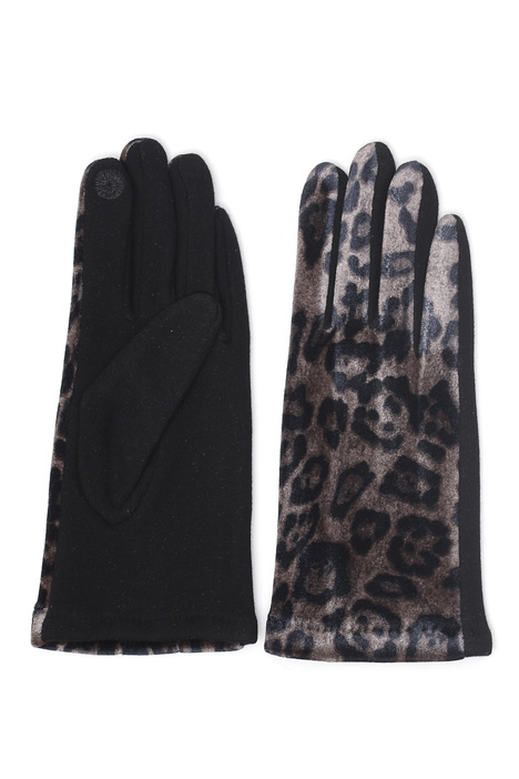 Gloves with chenille insert Intrend