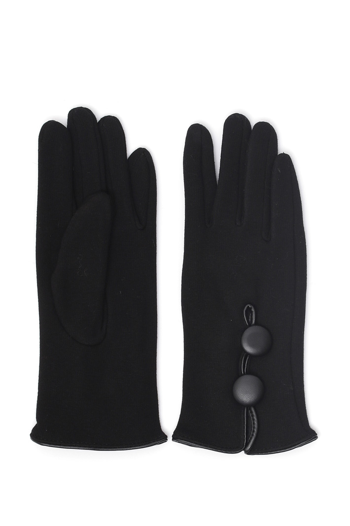 Buttoned gloves Intrend