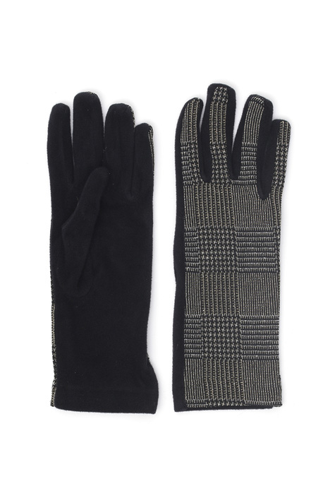 Lurex viscose gloves Intrend