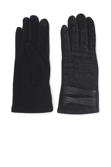 Lurex embroidered gloves Intrend